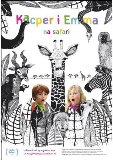 RODZINA W KINIE: Kacper i Emma na safari