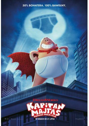 Kapitan Majtas: Pierwszy wielki film 2D